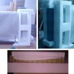 Şekil 2. Kalıplanmış poliüretan ile ambalaj