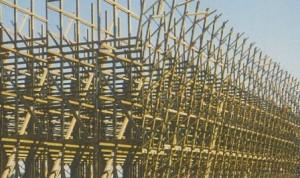 Şekil 3a Ahşap malzeme kullanılan bir su soğutma kulesinin yapısı (Anonim, 2003b