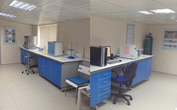 Şekil 2: İstanbul Üniversitesi Orman Fakültesi'nde yer alan Nanoteknoloji Laboratuvarı ile Termal Analiz Laboratuvarı