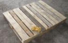 Şekil 4: Taşıma işlemlerinde kullanılan palet örneği