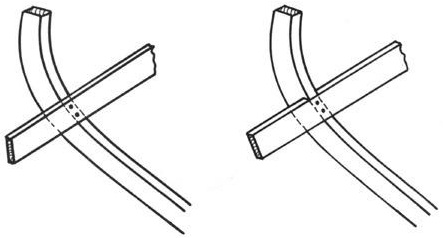 Şekil 3.10. Sintine stringeri posta bağlantısı