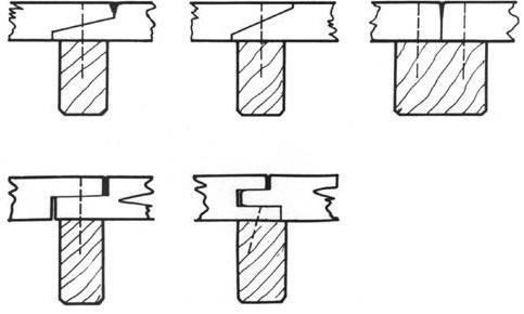 Şekil 4.1. Güverte kaplaması birleşim detayları(ST55)