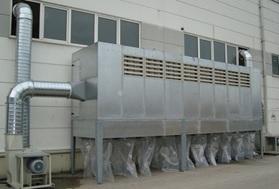 Şekil 4. Torbalı Toz Toplama Filtre Sistemi[5]